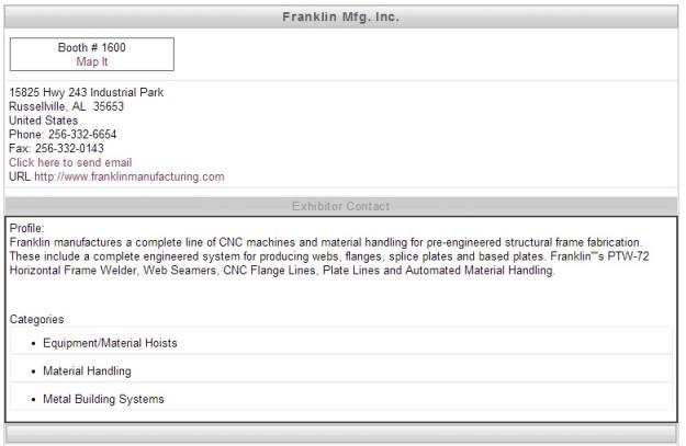 Frankling Manufacturing