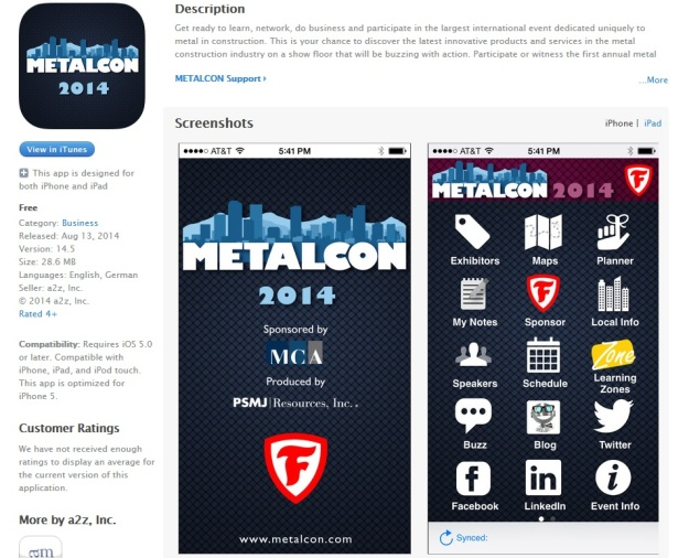 METALCONAPPLEapp