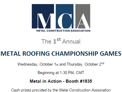 MCA ROOFING GAMES