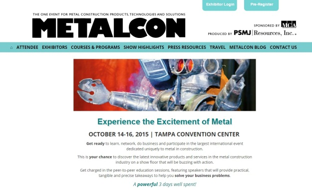 METALCON Home Page